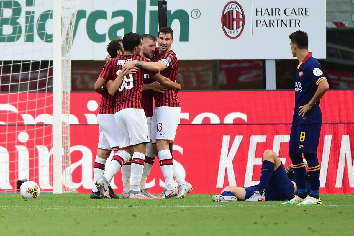 AC Milan vs AS Roma Highlights & Full match Replay