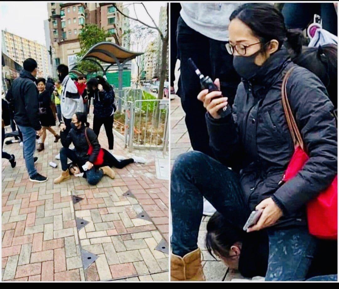 閲覧注意 #香港警察 https://t.co/ZsEGRDHYKF