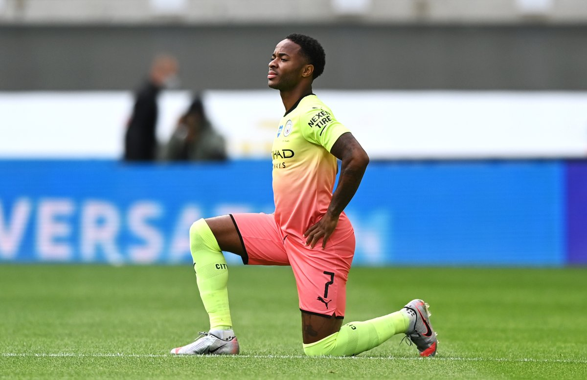 Raheem Sterlings record across all competitions in the last three seasons: 2017/18: 46 games, 23 goals 2018/19: 51 games, 25 games 2019/20: 42 games, 22 goals Chasing a personal best.