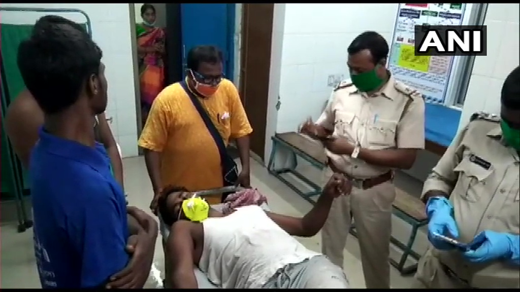 WB: BJPs East Midnapore dist secy Pabitra Das suffered bullet injuries yday during an alleged attack on villagers in his area, he was later taken to hospital. He says, At the behest of TMC MLA of Khejuri constituency & TMC Block President some armed goons attacked our village