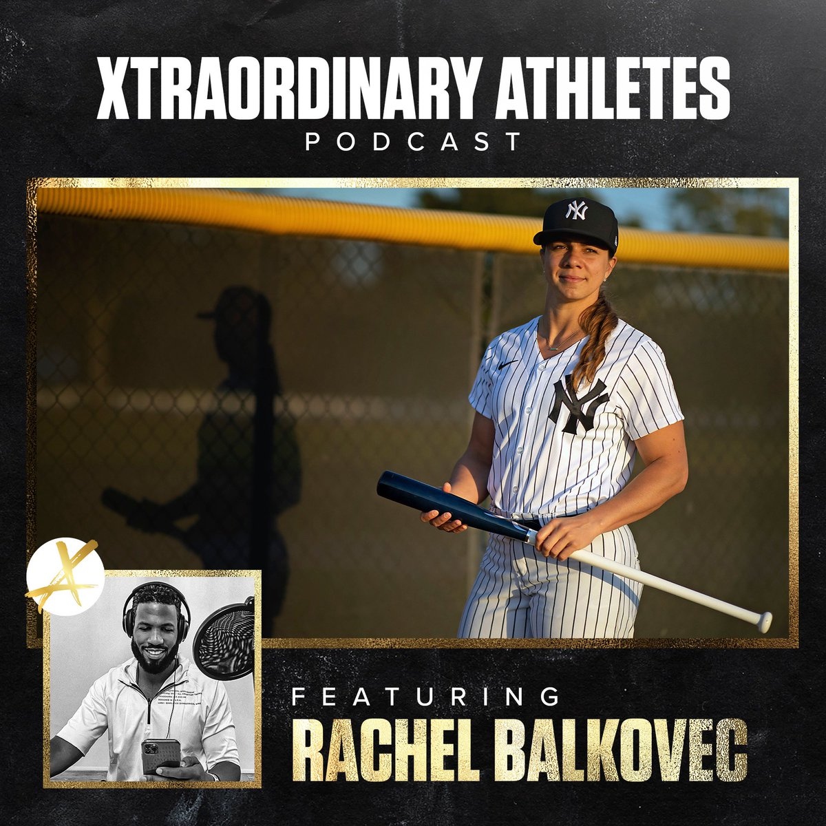 In Case you missed it! MLB's first woman hitting coach Joins Xtraordinary Athletes Podcast https://t.co/NTYckpe0EB https://t.co/42Zh3nzNz5