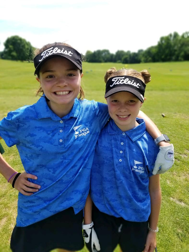 My golfing girls have a passion for life. Thanks for getting the season started and letting them play! #girlsrule @PGAjrLeague @erika_pirkl_pga