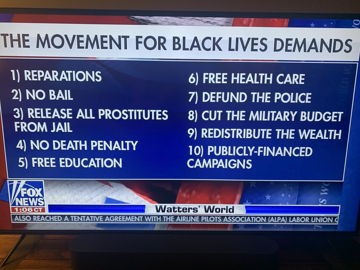 This sounds great! I'm all in! Nice job with the PR for #BLM, Fox News! 😂