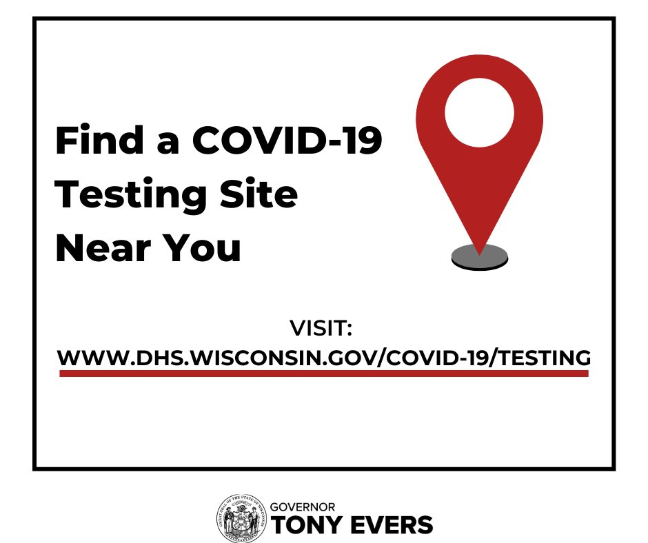 Continue to monitor yourself for symptoms of COVID-19, and if you have any symptoms or you've recently been in a large gathering of people, please find a testing site near you to get tested at: https://t.co/VsT2Z7rbLo. https://t.co/O97TPc1XA2