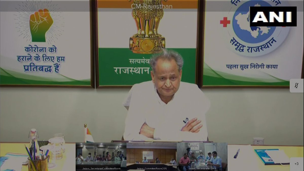 PM should tell the nation that what can be the reason behind what happened at the border (LAC). The way he told the opposition at the all-party meeting that China did not intrude into our land or capture any post, he made a blunder: Rajasthan CM Ashok Gehlot (28.06.2020) (1/2)