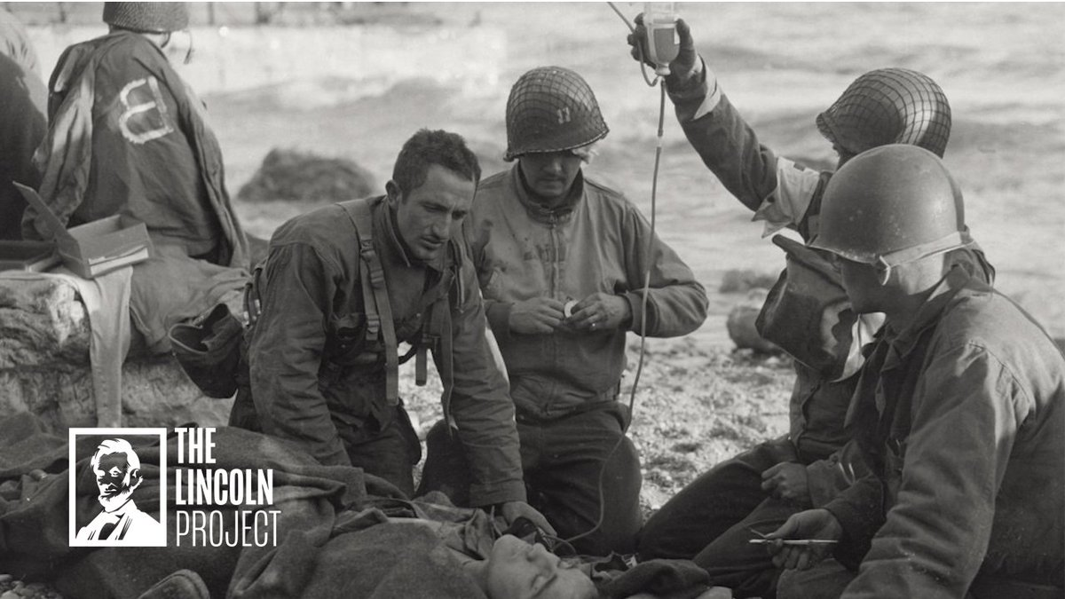 The Greatest Generation or Trump? Another devastating @ProjectLincoln spot that goes to the very heart of why @realDonaldTrump is, without question, the Worst American our nation has ever produced.👇🏼