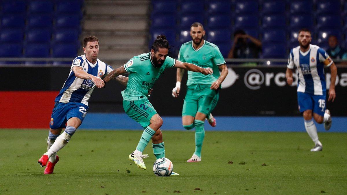 Xem lại Espanyol vs Real Madrid, La Liga – 29/06/2020