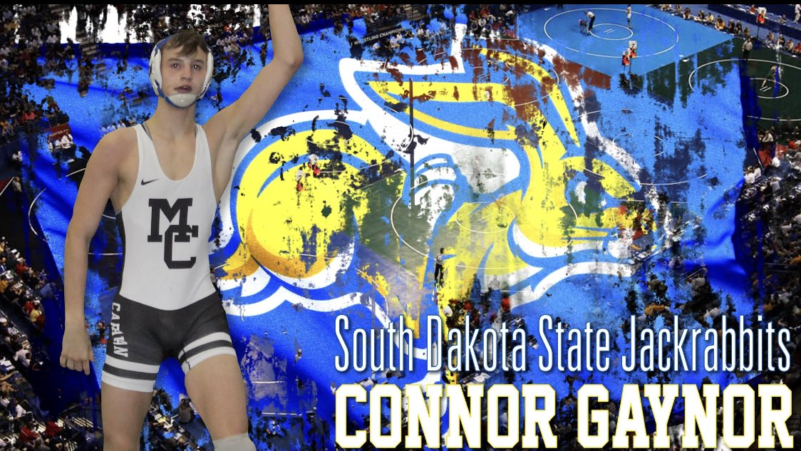 I'm very excited to announce I will be continuing my academic and athletic career at South Dakota State University! #D1 #BIG12 #getjacked 🔵🐰 https://t.co/rWSx6hIyiy