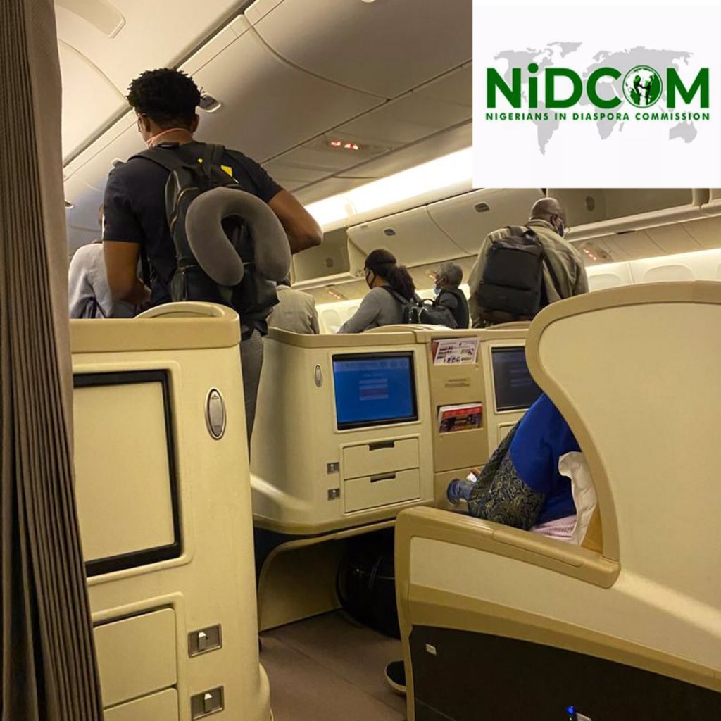 317 Nigerians including 9 infants landed Nnamdi Azikiwe International Airport, Abuja from London