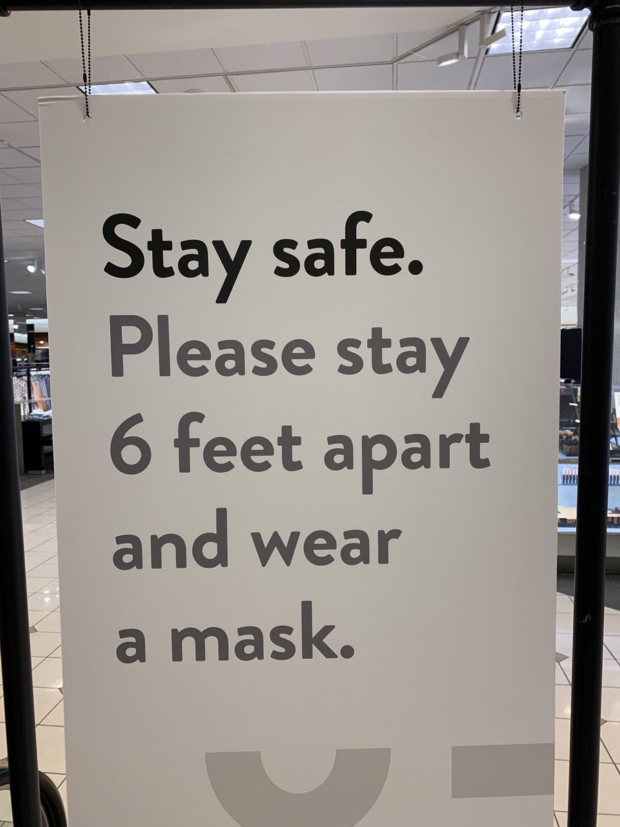 Stay a foot apart and wear six masks. Does that count, too? #coronamath #facemask #sixfeet pic.twitter.com/gvAgJJMSr7