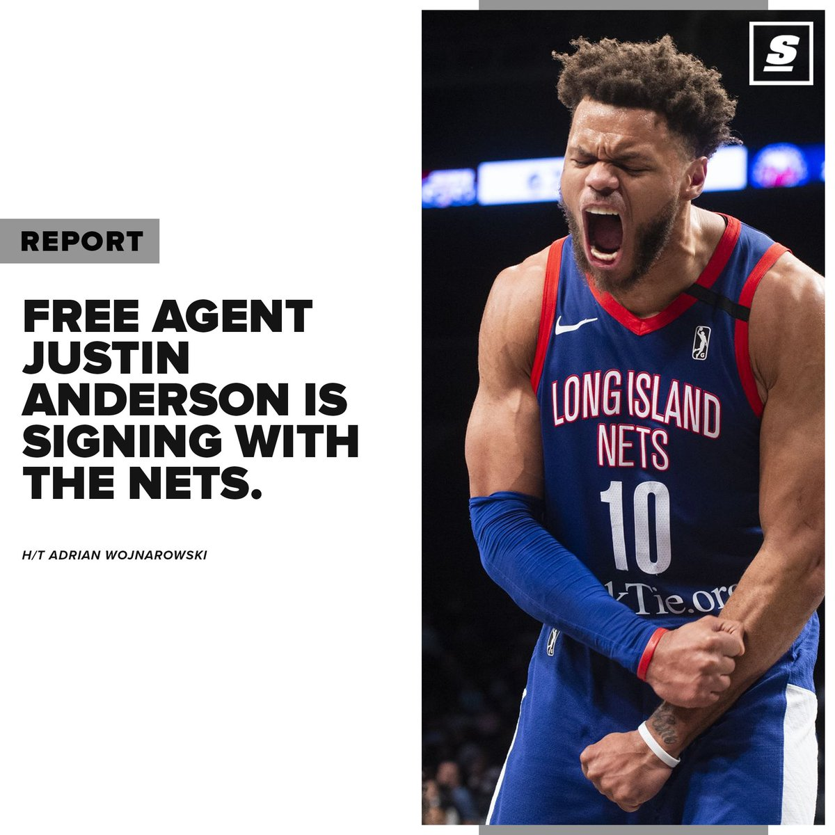 @theScore's photo on Justin Anderson