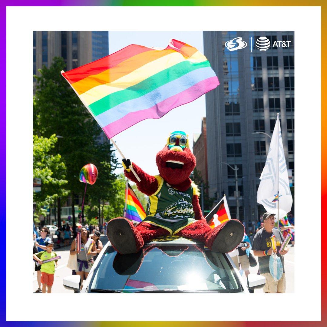 🏳️🌈 Happy Seattle Pride! 🏳️🌈 Love. Always. Wins. ❤️🧡💛💚💙💜 #LoveWins #LoveIsLove @ATT