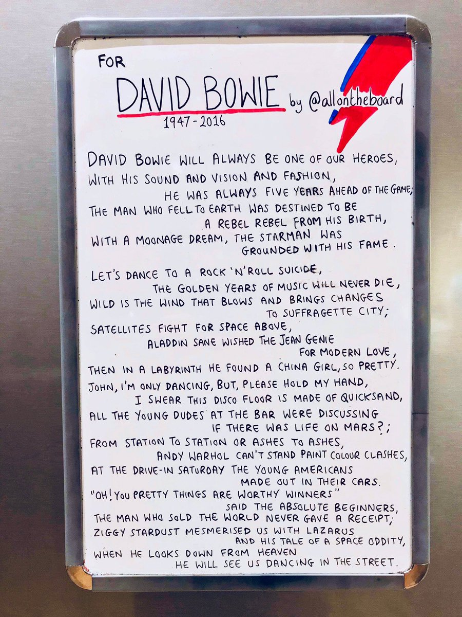 David Bowie at Glastonbury is mesmerising. Always missed, never forgotten and forever loved. @allontheboard #DavidBowie #Bowie #Glastonbury2020 #GlastoAtHome #BowieForever #allontheboard
