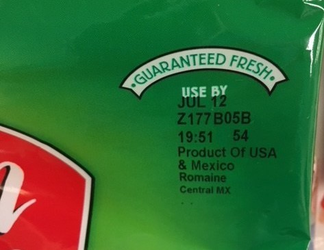 FOOD RECALL: Fresh Express recalled products with iceberg lettuce, carrots, and red cabbage due to Cyclospora. Products sold in many states under different brand names. Do not eat them and throw any remaining product away. See list: https://t.co/F4ueck7cy0 https://t.co/s6jpEYSOP0