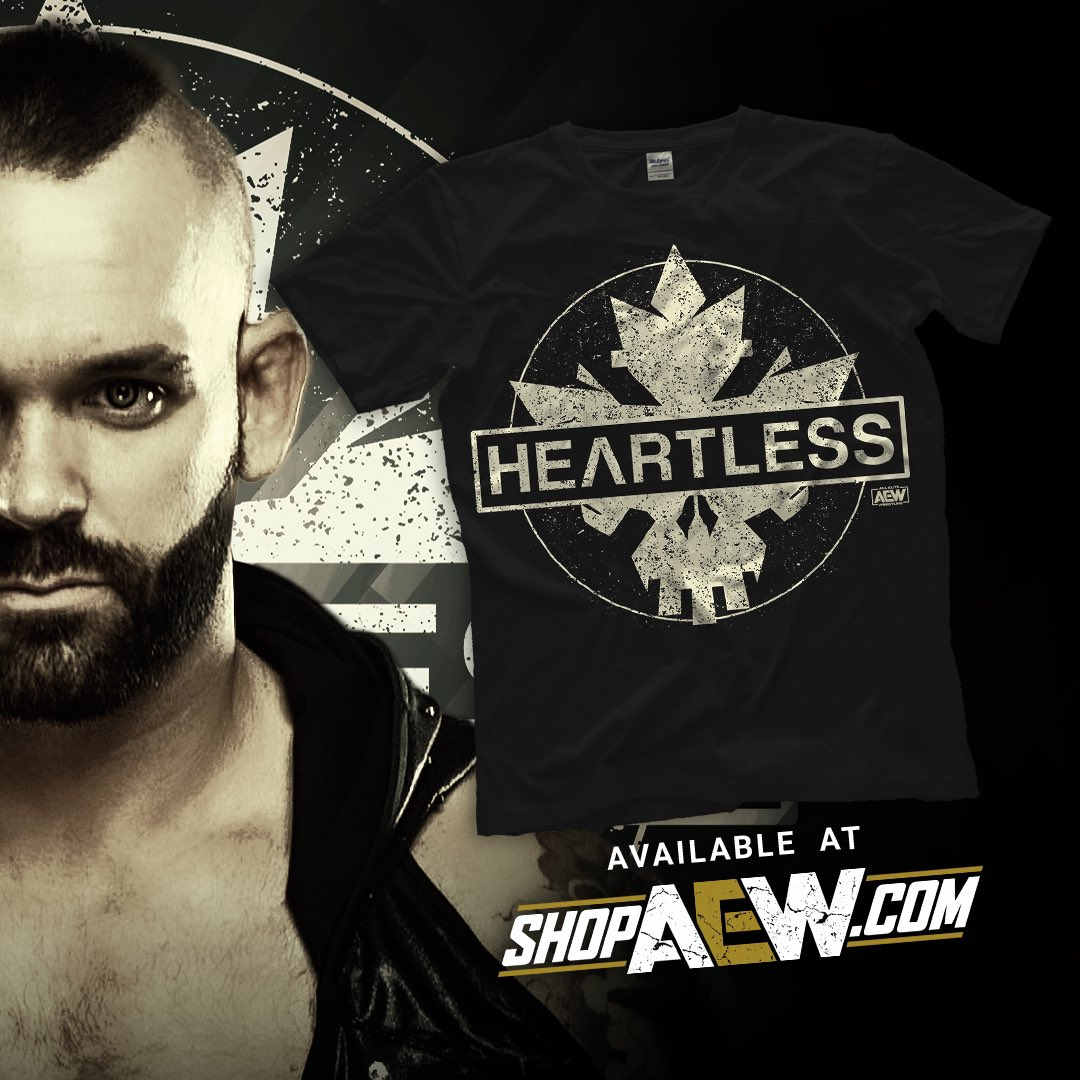No one can touch me... #Heartless @AEWrestling @ShopAEW