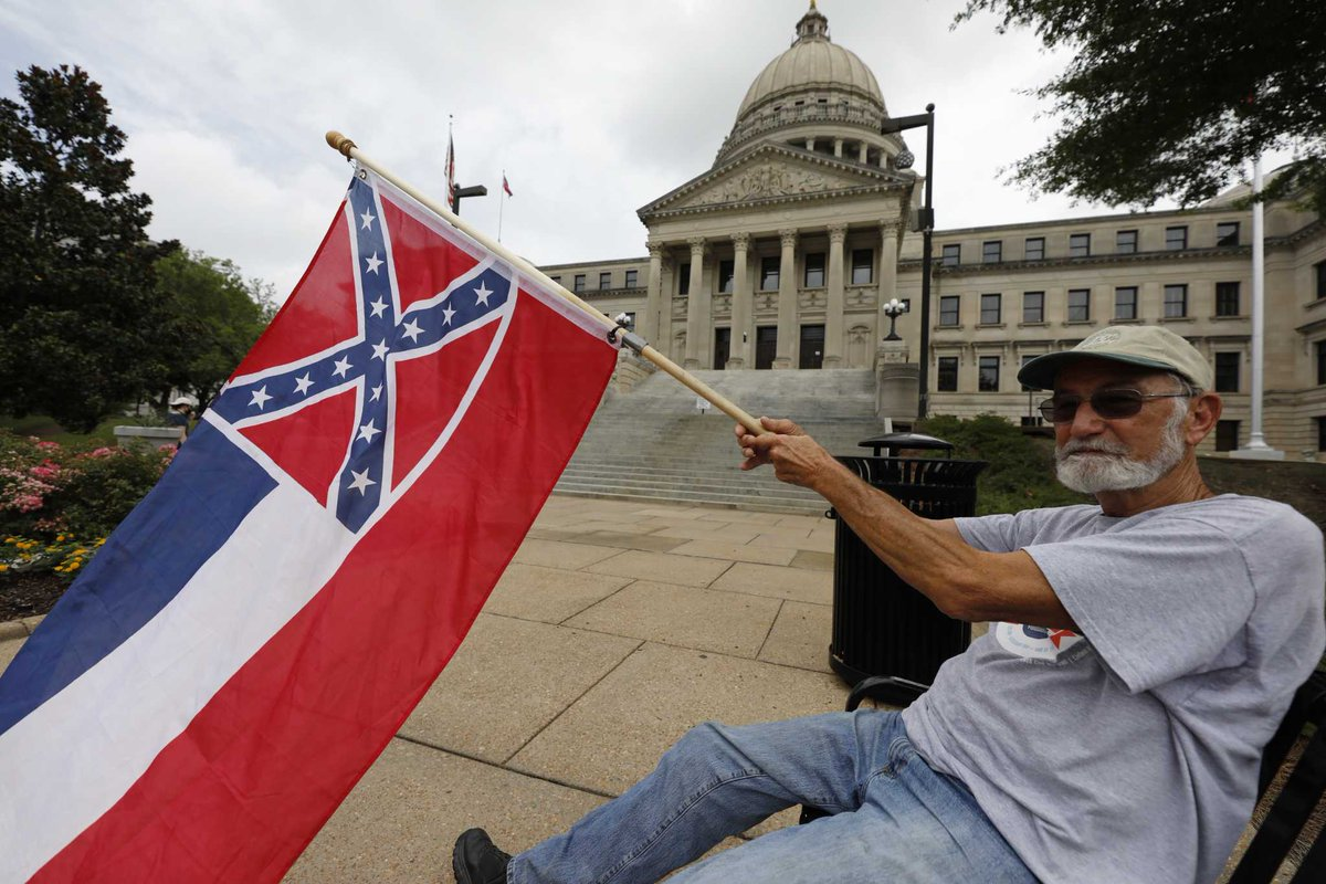 Миссисипи меняет флаг