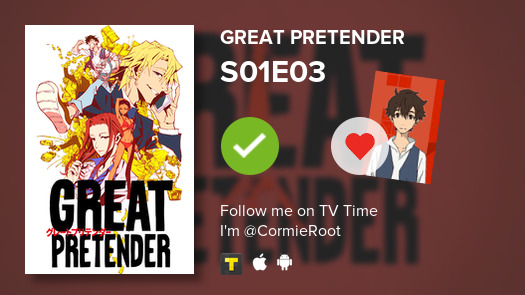 test ツイッターメディア - I just watched the episode S01E03 of Great Pretender and I'm at 4 months 10 days 3 hours  #tvtime https://t.co/ywIy7mOmRA https://t.co/0BkZGYjAXV