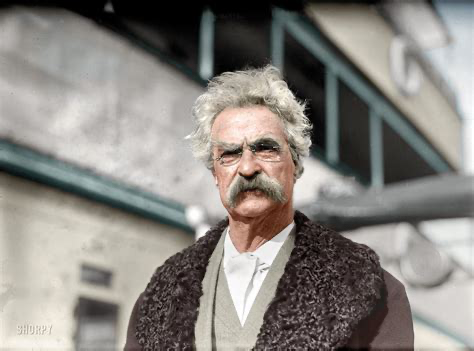 The humorous #story is told gravely; the teller does his best to conceal the fact that he even dimly suspects that there is anything funny about it. MARK TWAIN #amwriting #humor #fiction