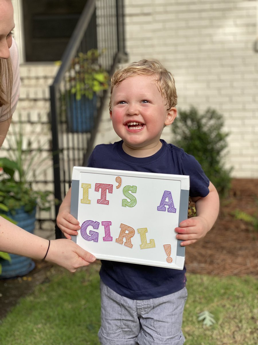 Surprise! #2 is a girl! Ready and excited to be a #GirlDad coming in November pic.twitter.com/z8MUkD4CB5  by Dennis N Stanley