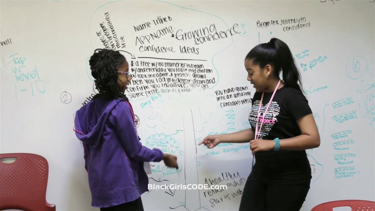 Not @BlackGirlsCode allowing my idea to be presented during the BET awards without even having me included in the picture! If you know me then you know that's obviously my handwriting. https://t.co/pXt2OamFlF