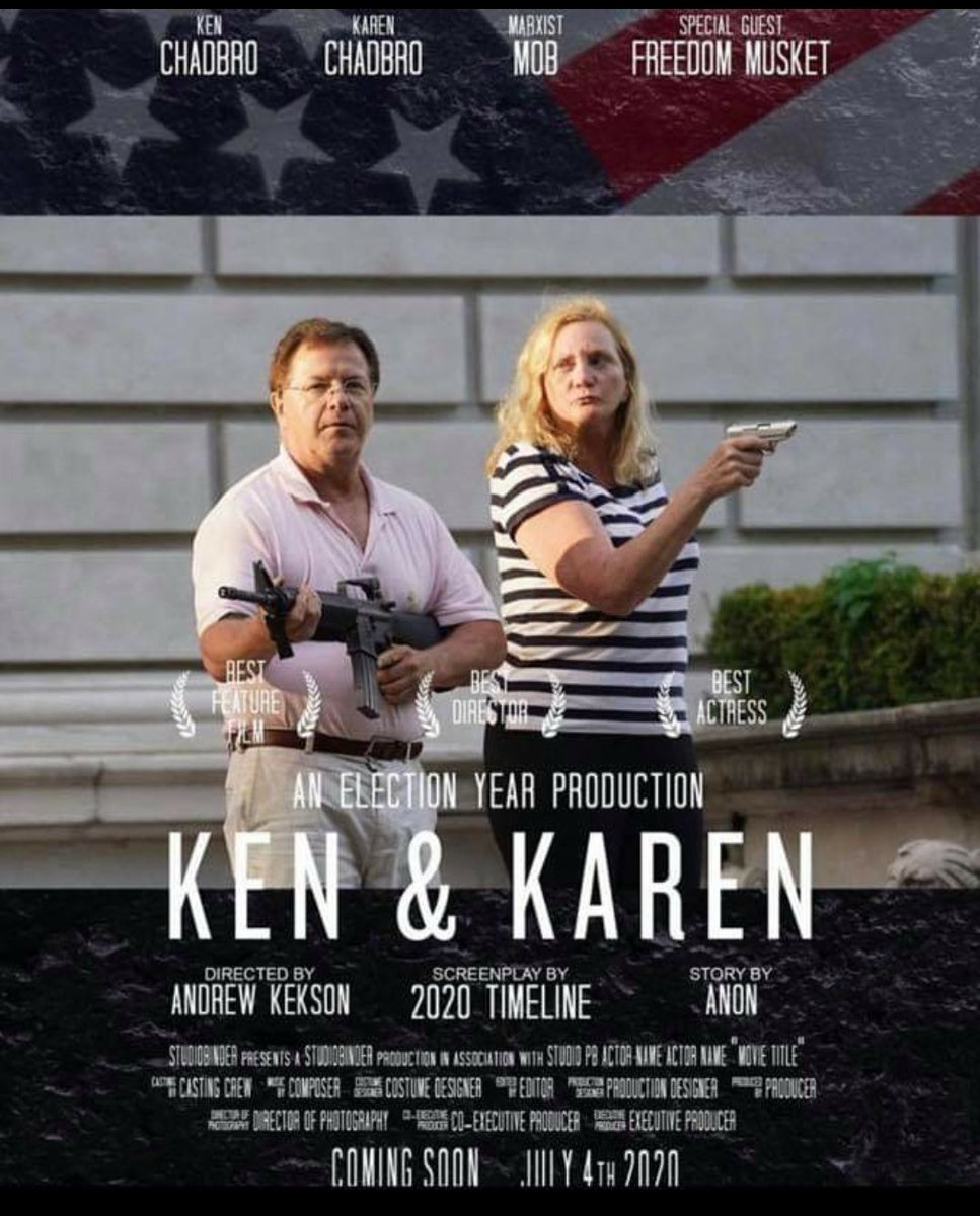 Omg who did this?! 😂 STL Ken and Karen