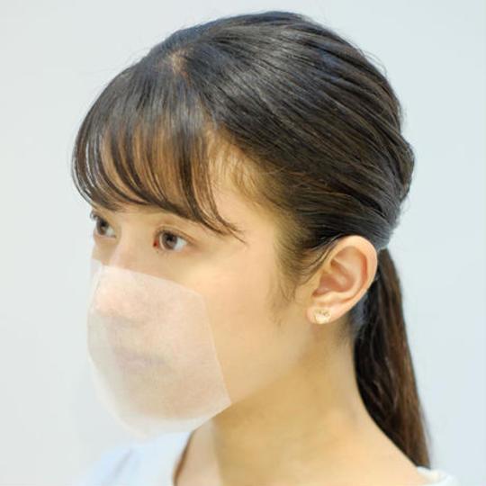 【速報】貼るマスク登場!!耳が痛くないから快適ww