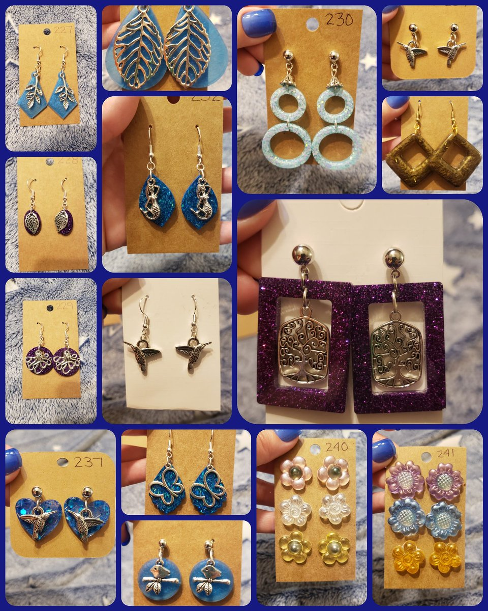 New Earrings Uploaded to my VIP Facebook Group! . https://www.facebook.com/groups/219025209467203/?ref=share… . #wolfstonecreations #oneofakindjewelry #oneofakind #resinearrings #earring #earrings #charmearringspic.twitter.com/uGWRtygMUj