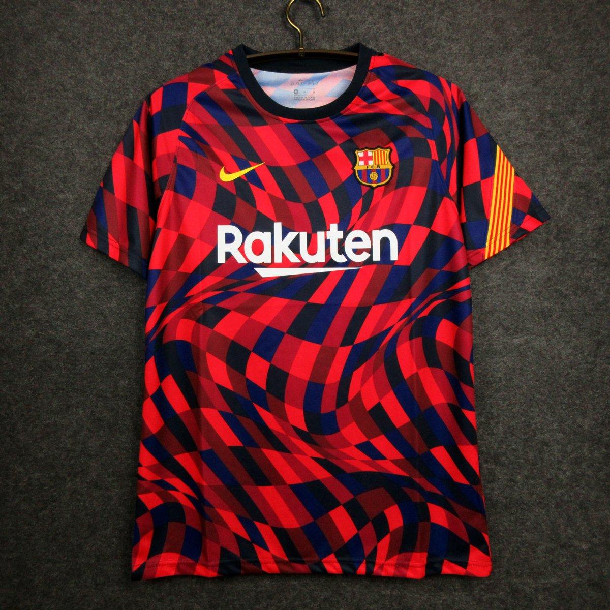 A nova camisa pré-jogo do Barcelona já disponível na nossa loja! 💰 R$139,90 (em até 12x) ⚠️ Frete totalmente grátis 👕 Tamanhos: P, M, G, GG e GGG 🚚 Enviamos código de rastreio 10% DE DESCONTO (via boleto) Acesse: futmais.store/camisa-barcelo…