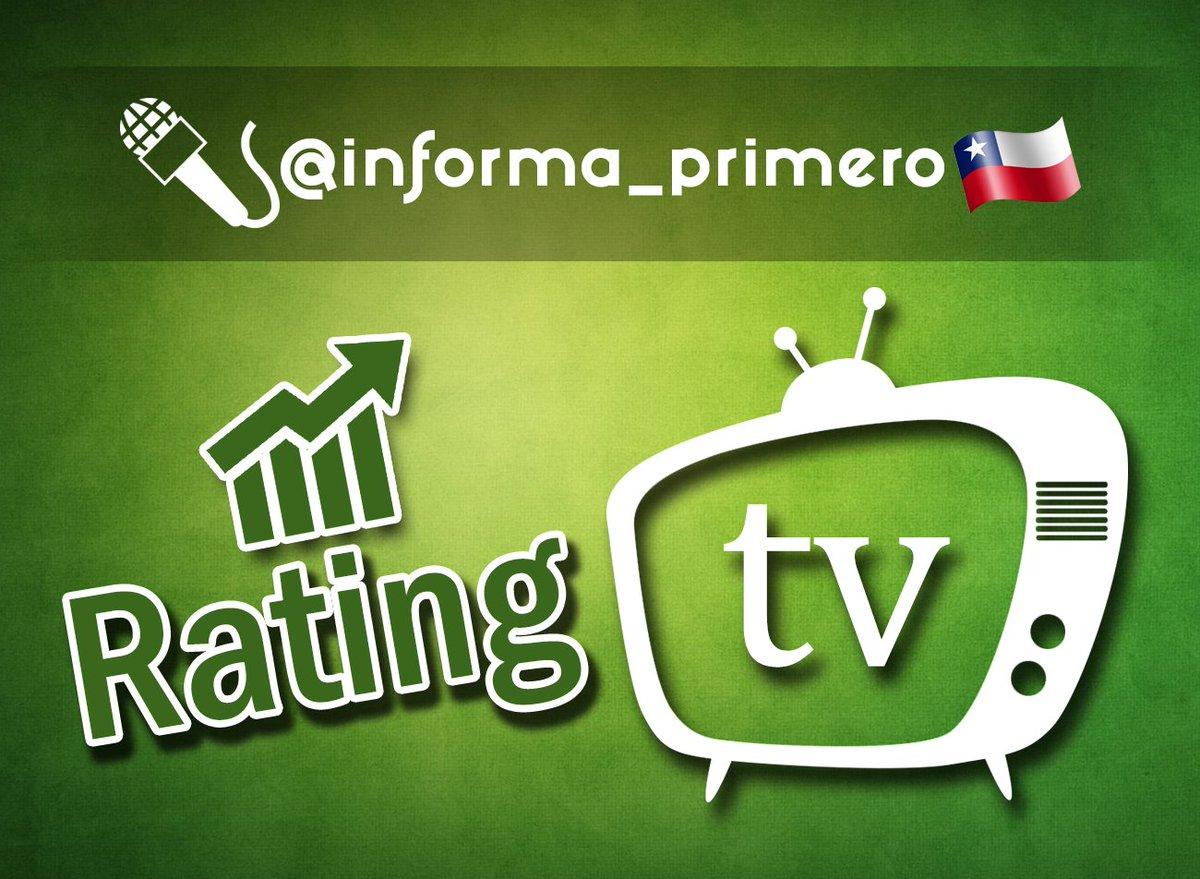 RT @Informa_Primero: 👉 #RATING ONLINE 20:00 HRS. 📺  #PobreGallo 17 #PasapalabraCHV 8 #AquiSomosTodos 8 #MoisesTVN 7  https://t.co/pLdV9GSvGe