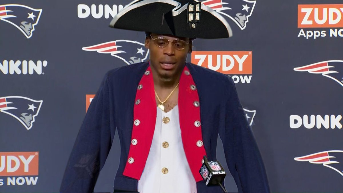 seen a lot of talk about Cam Newton's fit in New England, but I think this is it https://t.co/79Drdst3EN