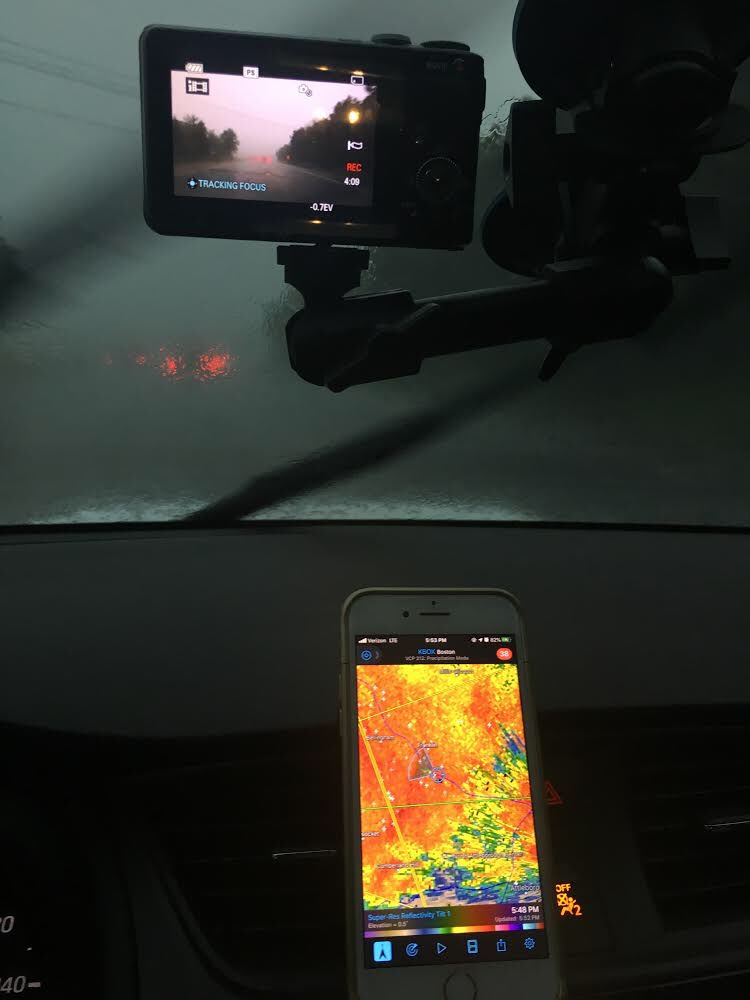 #DoNotTryThisAtHome #StormChasing Will have footage out by at latest Thursday <br>http://pic.twitter.com/ZPJXfAXuvu