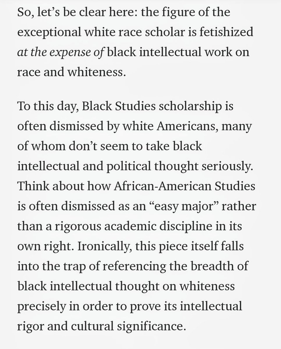 This is important to read. Read beyond White experts on race. Read Black intellectuals. 📚 twitter.com/SonjaCherryPau…