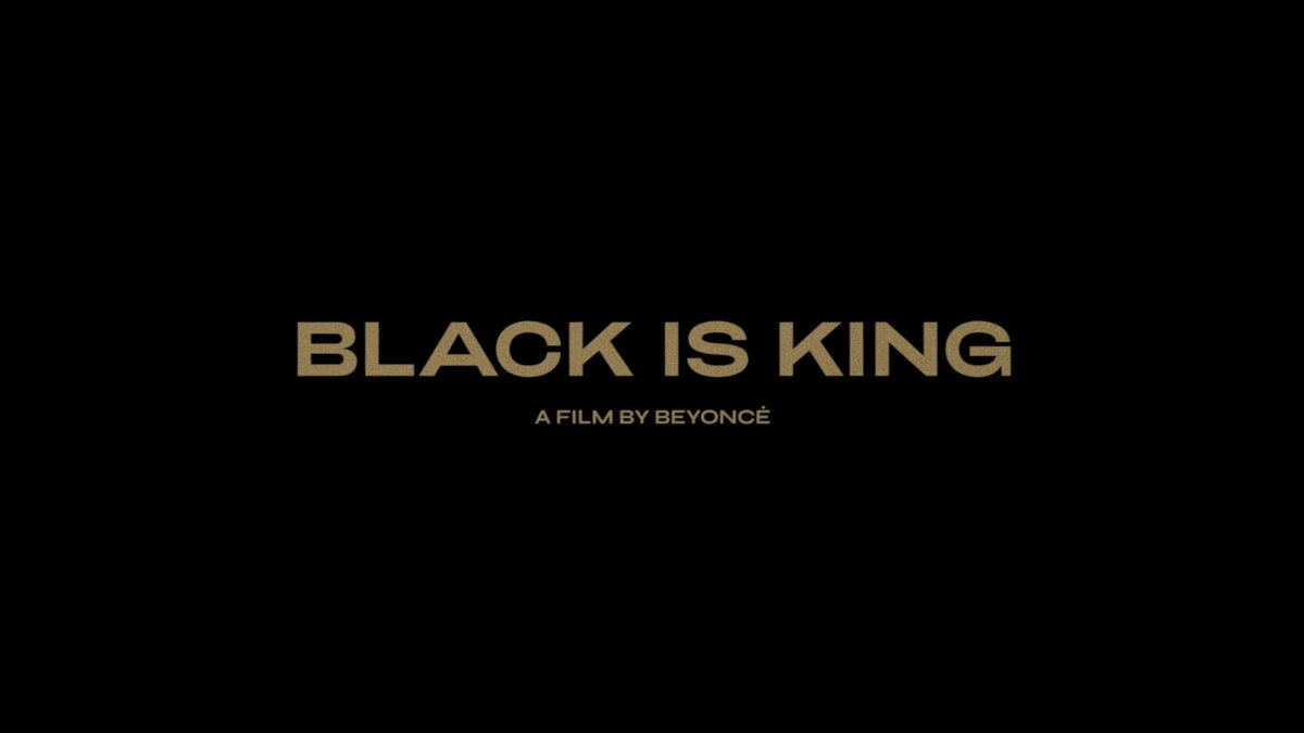 BLACK IS KING, a film by @Beyonce. Streaming exclusively July 31. #DisneyPlus