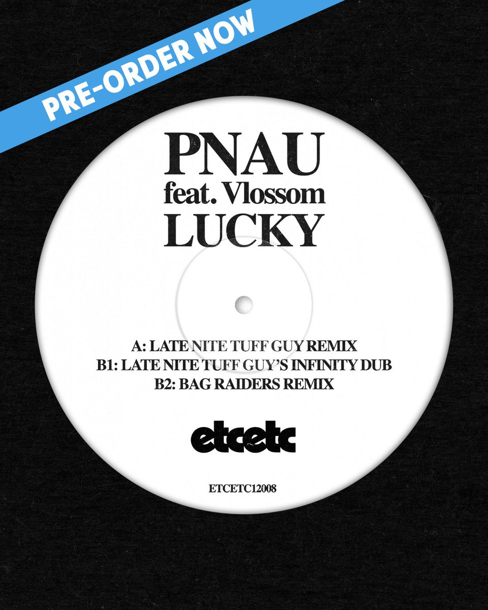 🌟 @pnau have enlisted @LateNiteTuffGuy and @bag_raiders to remix their latest track Lucky 🌟  Pre-order a limited edition copy on vinyl now - https://t.co/pCIzYvWXgw https://t.co/VkFefO9ogX