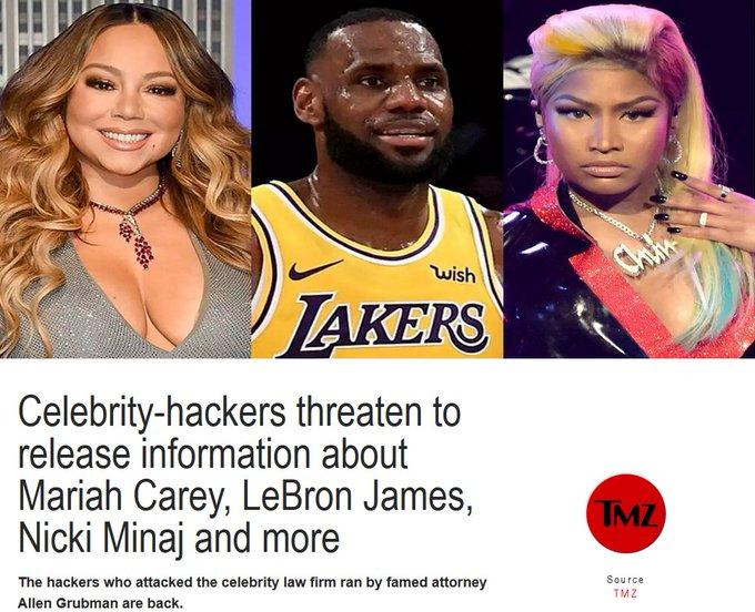 無妄之災!美媒曝詹姆斯遭黑客攻擊,全部消息將被拍賣:起價60萬美元!-籃球圈