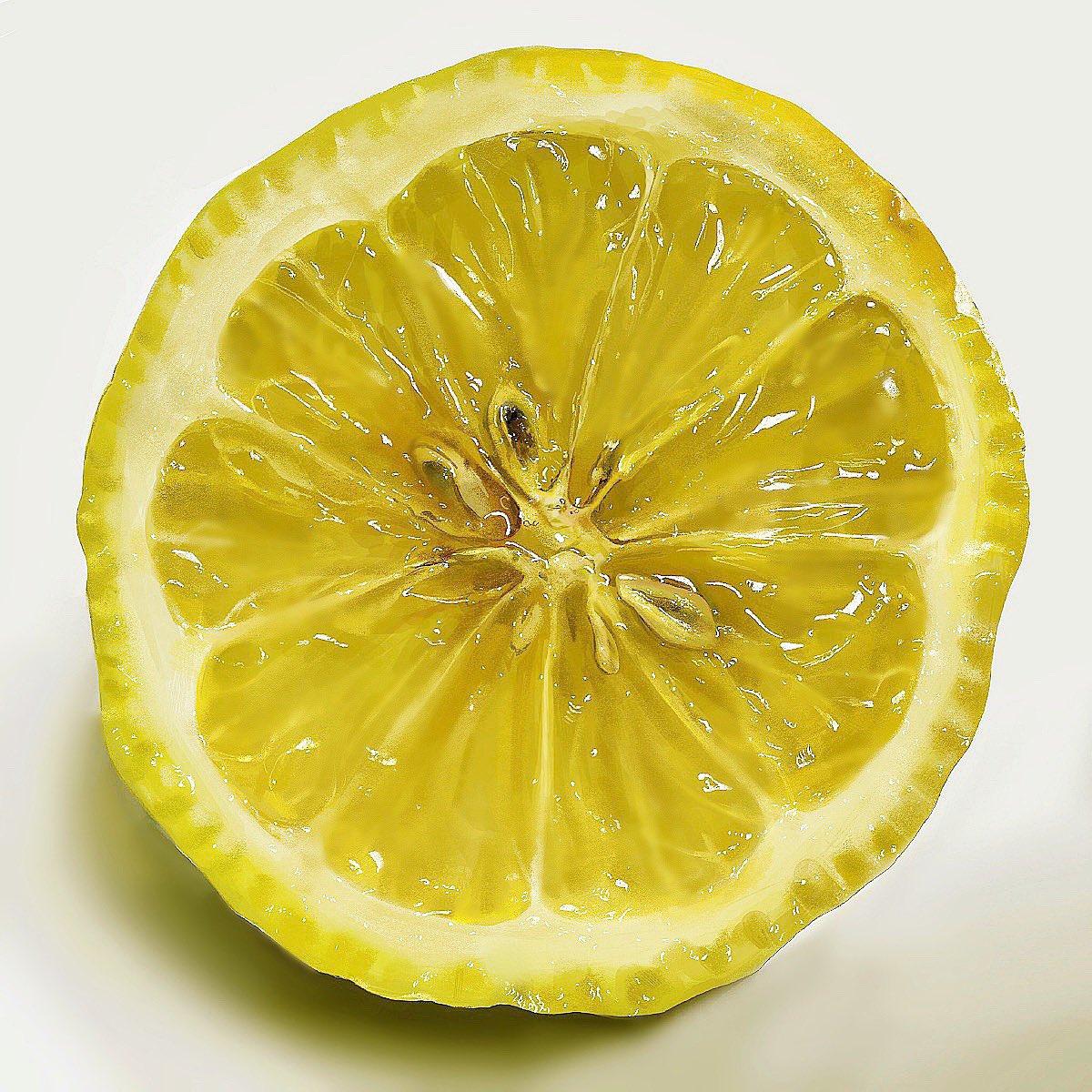 どっちがどっち!?描いたレモンと撮ったレモンの見分けがつかないwww