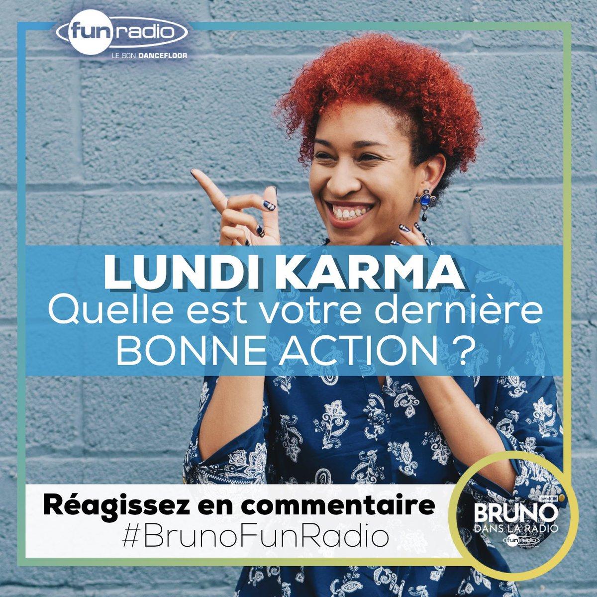 On se partage nos bonnes actions du week-end !  #brunofunradio <br>http://pic.twitter.com/ZPgbLW0SMB