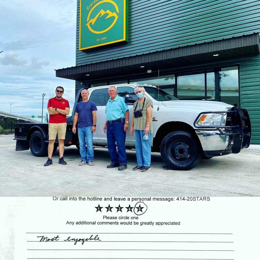 2016 Dodge Ram 3500 Crew Cab 4x4 Dually Flat Bed Cab and Chassis 6.7L Cummins Diesel with Aisin Transmission headed to her new home in Cameron, TX. Thank you Billy for trusting us and welcome to Everest Motors family. https://ift.tt/2I7w8iQ  #everestmot… https://instagr.am/p/CCAVIsaBHYh/ pic.twitter.com/8pnXePNeVL