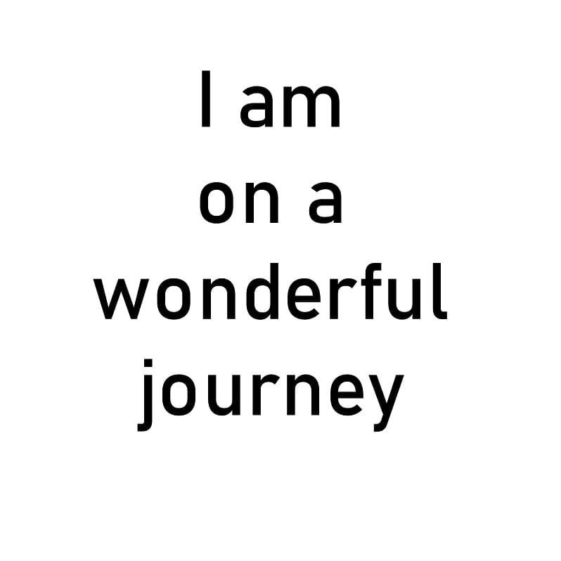 I am on a wonderful journey. . . . . . #vidyasury #affirmations #mondaymotivation #dailyaffirmations #positivevibes #mindfulness #selflove #selfcare #personaldevelopment #instadaily #collectingsmiles https://t.co/0OIJo4MIZ7 https://t.co/4x8D46dMu5
