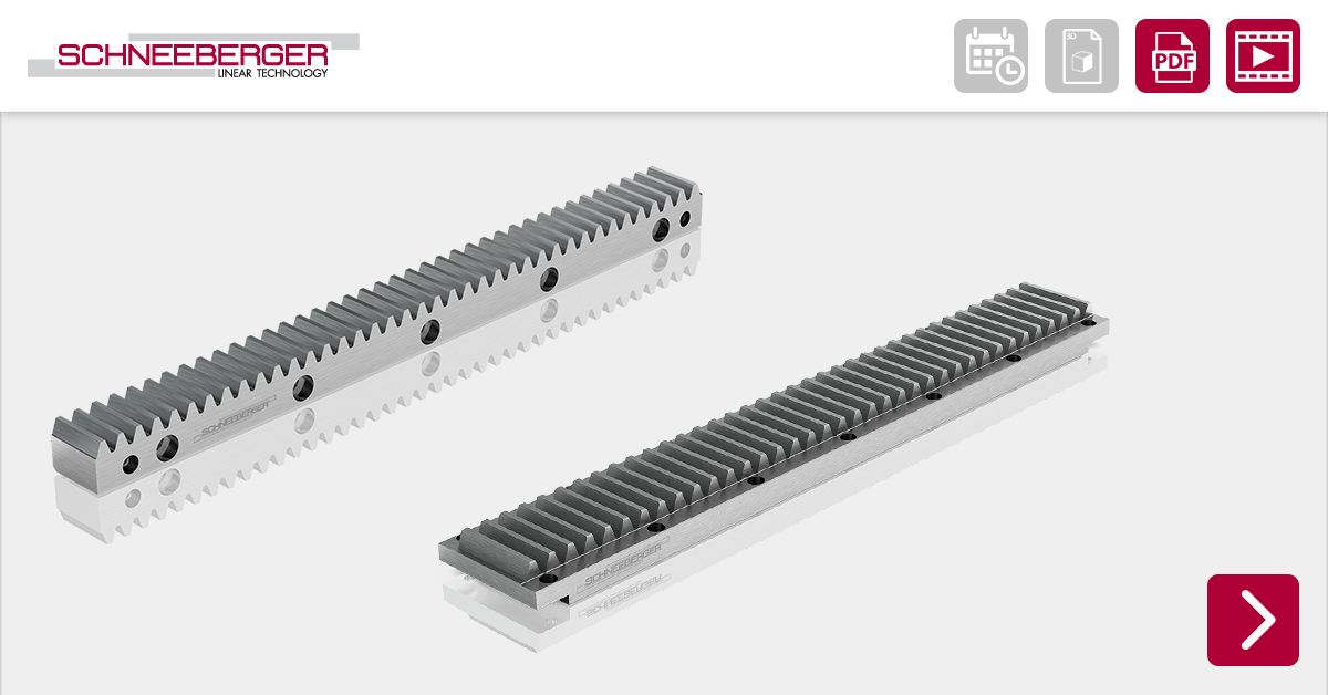 With our vast range of custom and high quality gear racks and guide rails, SCHNEEBERGER further exhibits itself as a leader and innovator in the field of linear motion.  Read more: https://t.co/Bk3AJfNAn1  #schneeberger #Zahnstangen https://t.co/QeBTSdRMSO