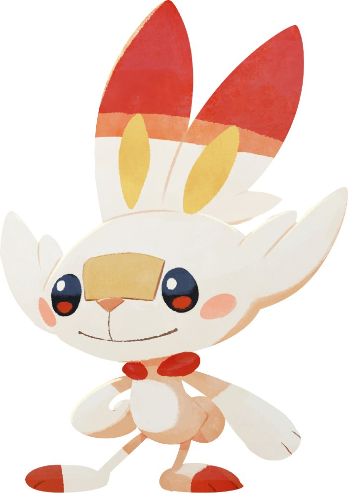 Scorbunny Pokémon Café Mix