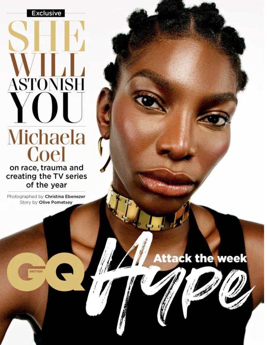 Michaela Coel for GQ 😍