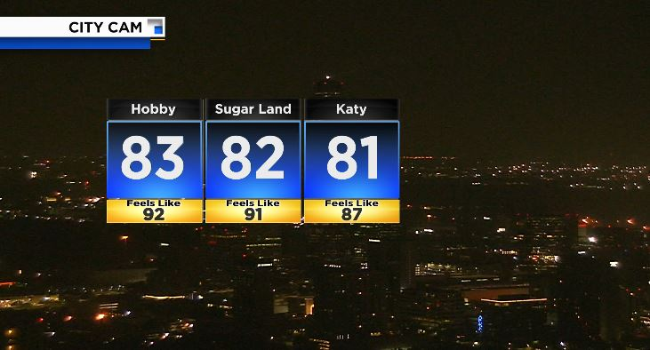 It feels like 92 degrees and it is not even 5am... enough said!  #hotforecast #go2weather