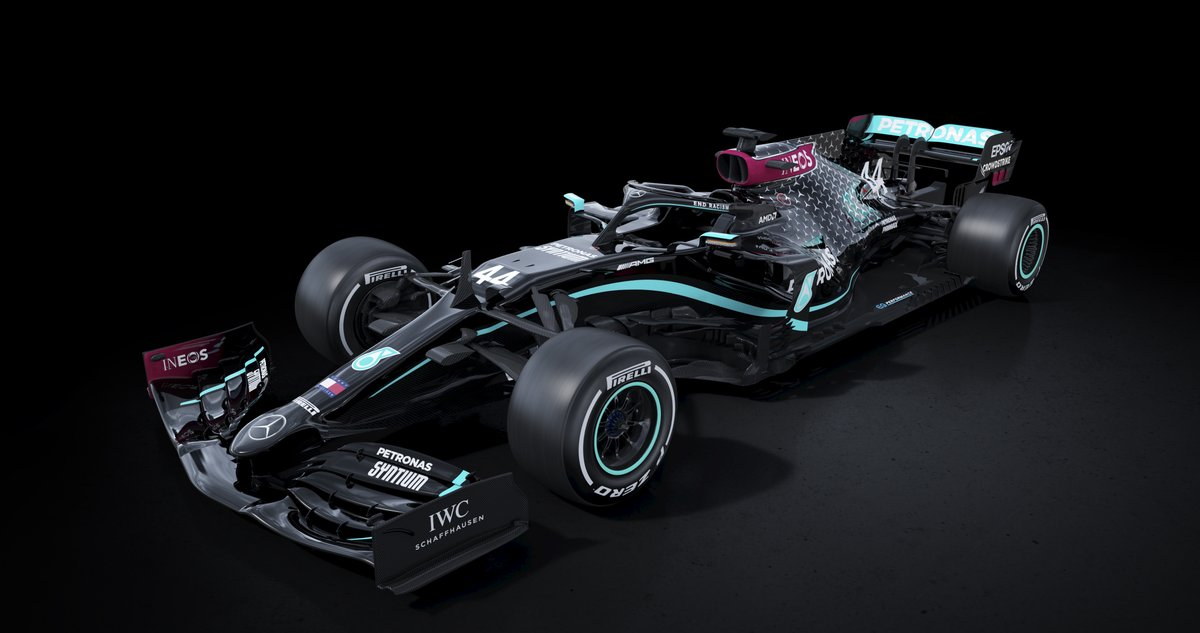 Introducing our new 2020 livery 🖤 A pledge to improve the diversity of our team and our sport, and a signal of the Team's commitment to fighting racism and discrimination in all its forms. https://t.co/ZYzCsFl6Mv