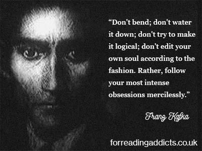 #OTD 1883  German-speaking Bohemian novelist and short-story writer Franz Kafka was born #authorquotes #amreading #readingaddict  http://bit.ly/29gcKh4pic.twitter.com/3AR55SflAY  by ReadingAddicts