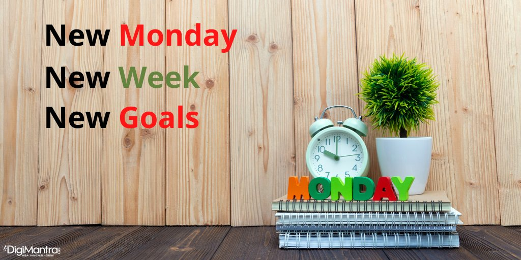 Happy Monday, everyone! . #happymonday #mondaymorning #mondaymotivation #newweek #motivation #positive #inspiration #digimantralabs #digitian<br>http://pic.twitter.com/Tscs2vdFoz