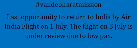 #vandebharatmission to repatriate stranded Indian nationals from New Zealand to India concluding this week. If you are stranded in New Zealand and wish to return India, please do not miss the opportunity. @MukteshPardeshi @BhavDhillonnz @indianweekender @indiannewslink