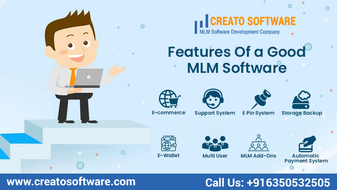 Creato Software Provides Best MLM Software to Grow Your Business.  Visit at For More Details https://t.co/IBHHbyF3hP  #Creato #Creatosoftware #Startup #Softwaresolution #softwaresolutions #mlmsoftware #mlm #onlinebusiness #directselling #multilevelmarketing #mlmsuccess https://t.co/DxnvDWbj9S
