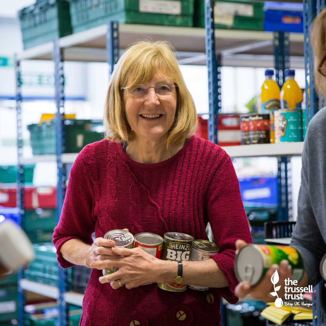 What's your #MondayMotivation? Ours is the amazing contribution volunteers make to #foodbanks across our network – their dedication is inspiring!