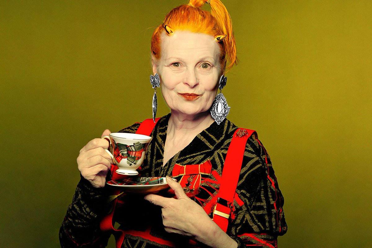 Cas Academy Dt On Twitter Design Of The Day No 92 Dame Vivienne Isabel Westwood A British Fashion Designer And Businesswoman Largely Responsible For Bringing Modern Punk And New Wave Fashions